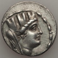 Ancients:Greek, Ancients: SYRIA. Seleuceia Pieria. Ca. 106/5-88/7 BC. ARtetradrachm (14.86 gm). About XF, light smoothing....