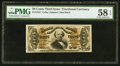 Fractional Currency:Third Issue, Fr. 1324 50¢ Third Issue Spinner PMG Choice About Unc 58 EPQ.. ...