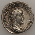 Ancients:Ancient Lots , Ancients: GROUP LOTS. Roman Imperial. Lot of two (2) TrebonianusGallus AR antoniniani. Choice VF-About XF.... (Total: 2 coins)