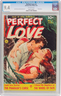 Golden Age (1938-1955):Romance, Perfect Love #3 (Ziff-Davis, 1951) CGC NM 9.4 Off-white pages....