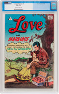Silver Age (1956-1969):Romance, Love and Marriage #8 (I.W., 1958) CGC NM+ 9.6 Off-white to white pages....