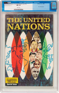 Classics Illustrated Special Issue #nn The United Nations (Gilberton, 1964) CGC NM 9.4 White pages