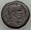 Ancients:Roman Provincial , Ancients: EGYPT. Alexandria. Claudius I (AD 41-54). AE diobol (7.56gm). About Fine....