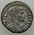 Ancients:Ancient Lots , Ancients: GROUP LOTS. Roman Imperial. Lot of two (2) ConstantinianEra AE3. AU, Silvering.... (Total: 2 coins)