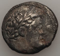 Ancients:Greek, Ancients: PHOENICIA. Tyre. Ca. 126/5 BC-AD 67/8. AR shekel (12.98gm). About XF, corroded....