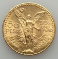 Mexico, Mexico: Estados Unidos gold 50 Pesos 1945 Choice AU,...