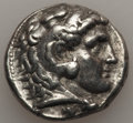 Ancients:Greek, Ancients: MACEDONIAN KINGDOM. Alexander III the Great (336-323 BC).AR tetradrachm (17.08 gm). Fine....