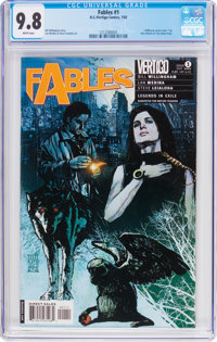 Fables #1 (DC/Vertigo, 2002) CGC NM/MT 9.8 White pages