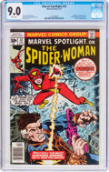 Bronze Age (1970-1979):Superhero, Marvel Spotlight #32 Spider-Woman (Marvel, 1977) CGC VF/NM 9.0 White pages....