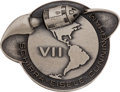 Explorers:Space Exploration, Apollo 7 Flown Silver Robbins Medallion, Serial Number 172, Originally from the Personal Collection of Astronaut Charlie Duke,...