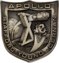 Explorers:Space Exploration, Apollo 10 Flown Silver Robbins Medallion, Serial Number 190, Originally from the Personal Collection of Astronaut Dave Scott, ...