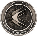 Explorers:Space Exploration, Apollo 15 Flown Silver Robbins Medallion, Serial Number 069,Originally from the Personal Collection of Astronaut CharlieDuke...