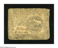 Colonial Notes:Continental Congress Issues, Continental Currency May 9, 1776 $4 Very Good....
