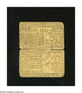 Colonial Notes:Delaware, Delaware June 1, 1759 20s Good. This scarce note has two centersplits that occupy approximately two-thirds of the note....