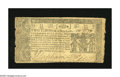 Colonial Notes:Maryland, Maryland April 10, 1774 $2/3 Very Fine. A very well marginedMaryland note with bold signatures and serial near solid serial...