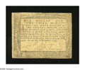 Colonial Notes:Maryland, Maryland December 7, 1775 $1 1/3 Extremely Fine. A pleasingMaryland note with a couple of tape repairs along the back edge...