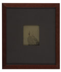Photography:CDVs, GENERAL BENJAMIN FRANKLIN BUTLER (1818-1893): PHOTOGRAPHIC NEGATIVE....