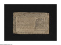 Colonial Notes:New York, New York August 13, 1776 $3 Very Good. The back reveals a smallrepair....