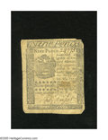 Colonial Notes:Pennsylvania, Pennsylvania April 3, 1772 9d Very Good. This is the first time wehave had this denomination from this issue in one of our ...