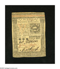 Colonial Notes:Pennsylvania, Pennsylvania October 1, 1773 15s About New. A center fold is foundon this note....