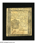 Colonial Notes:Pennsylvania, Pennsylvania April 25, 1776 3d Choice About New. A lovely exampleof an infrequently seen small change note that is well mar...