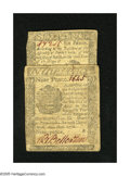 Colonial Notes:Pennsylvania, Pennsylvania April 25, 1776 6d VGPennsylvania April 25, 1776 9dVG.. These were printed by Hall & Sellers.. ... (Total: 2notes)