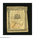 Colonial Notes:Pennsylvania, Pennsylvania April 25, 1776 10s Extremely Fine. The vertical foldis harder than the lateral fold on this note....
