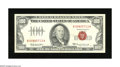 Small Size:Legal Tender Notes, Fr. 1551 $100 1966A Legal Tender Note. Very Fine-Extremely Fine.. A wonderfully embossed legal tender note that is as origin...