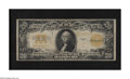 Large Size:Gold Certificates, Fr. 1187 $20 1922 Gold Certificate Fine. Only a couple of edge abrasions are found on this $20 Gold....
