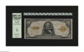 Large Size:Gold Certificates, Fr. 1200 $50 1922 Gold Certificate PCGS Fine 12. A highly desirable high denomination gold....