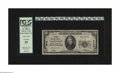 Washington, DC - $20 1929 Ty. 1 The Riggs NB Ch. # 5046 Some embossing is noted through the holder on this bank from ou...