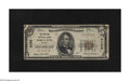 National Bank Notes:Maine, Portland, ME - $5 1929 Ty. 1 The Portland NB Ch. # 4128. This Very Good $5 shows signs of mounting in each corner....
