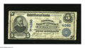 National Bank Notes:Maryland, Baltimore, MD - $5 1902 Date Back Fr. 593 The NB of Commerce Ch. #(E)4285. This bank would fold in May 1921. The census...