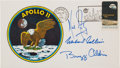 "Explorers:Space Exploration, Apollo 11 Crew-Signed ""Type Three"" Insurance Cover with Mission Insignia Cachet, Originally from the Personal Collection of Bu..."