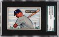 Baseball Cards:Singles (1950-1959), 1951 Bowman Mickey Mantle #253 SGC 55 VG/EX+ 4.5....