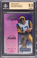 Football Cards:Singles (1970-Now), 1999 Playoff Contenders SSD Autographed #146 BGS Gem Mint 9.5. ...
