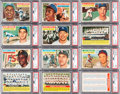 Baseball Cards:Sets, 1956 Topps Baseball Complete Set (340) plus Both Checklists. ...