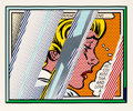 Fine Art - Work on Paper:Print, Roy Lichtenstein (1923-1997). Reflections on Girl, from theReflections series, 1990. Litho...