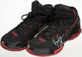 Basketball Collectibles:Others, Circa 2005 Ben Gordon Game Issued & Signed Basketball Shoes. . ...