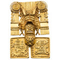 Estate Jewelry:Brooches - Pins, Gold Pendant-Brooch. ...