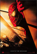 "Movie Posters:Action, Spider-Man (Columbia, 2002). International One Sheet (27"" X 39.5"")DS Advance Twin Towers Style. Action.. ..."