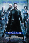 """Movie Posters:Science Fiction, The Matrix (Warner Brothers, 1999). One Sheet (27"""" X 40""""). ScienceFiction.. ..."""