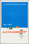"Movie Posters:War, The Longest Day (20th Century Fox, 1962). One Sheet (27"" X 41"").War.. ..."