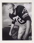 "Football Collectibles:Photos, Ray Nitschke ""First Day as a Pro"" Signed Photograph - Numbered 68/72. ..."