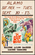 """Movie Posters:Science Fiction, The Lost World (20th Century Fox, 1960). Window Card (14"""" X 22"""").Science Fiction.. ..."""
