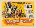 """Movie Posters:Science Fiction, The Monolith Monsters (Universal International, 1957). Half Sheet(22"""" X 28""""). Science Fiction.. ..."""