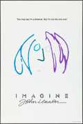 "Movie Posters:Rock and Roll, Imagine: John Lennon (Warner Brothers, 1988). Numbered LimitedEdition One Sheet (27"" X 41""). Advance Purple Hair Style. Roc..."