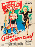 "Movie Posters:Comedy, Some Like It Hot (United Artists, 1959). French Grande (47"" X 63"").Comedy.. ..."
