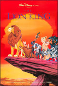 """Movie Posters:Animation, The Lion King (Buena Vista, 1994). One Sheet (27"""" X 40""""). Animation.. ..."""