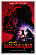 "Movie Posters:Science Fiction, Revenge of the Jedi (20th Century Fox, 1982). One Sheet (27"" X41""). Dated Style. Science Fiction.. ..."